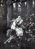 В. М. Васнецов. Иван царевич на Сером Волке. 1889.