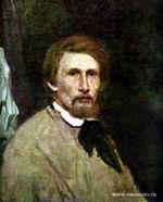В.М. Васнецов. Автопортрет. 1873 г. Холст, масло. ГТГ.