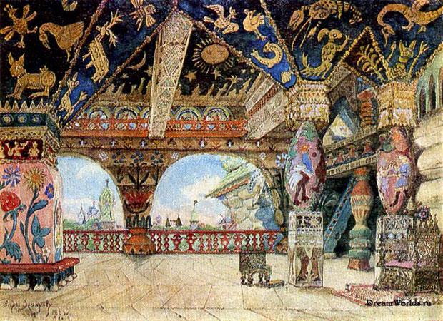 Палаты царя Берендея. Васнецов В.М.