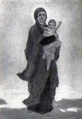 В. М. Васнецов. Богоматерь с младенцем. Эскиз для абсиды.