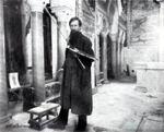 В.М. Васнецов во время во Владимирском соборе в Киеве. 1880-е