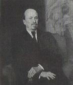 В. М. Васнецов. Портрет М. В. Нестерова. 1925.