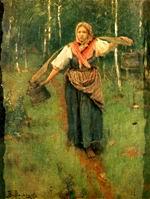В.М. Васнецов. За водой. 1880 г. Х., м. ДМВ.