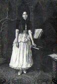 В. М. Васнецов. Портрет Е. А. Праховой. 1894.