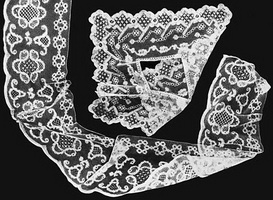 Оплет носового платка и мерное кружево