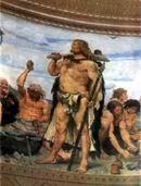 В.М. Васнецов. Каменный век. 1882–1885 г. Х., м. ГИМ.
