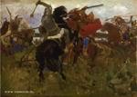 В.М. Васнецов. Битва скифов со славянами. ГТГ. 1879.