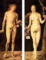 Альбрехт Дюрер. Адам и Ева