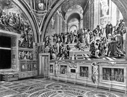 Фрески в Станца делла Сеньятура (Рафаель, 16 в.)