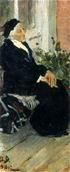 В.М. Васнецов. М.И. Рязанцева. Этюд. 1901 г. Х., м. ДМВ.