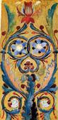 В. М. Васнецов. Декоративный орнамент для Владимирского собора в Киеве.