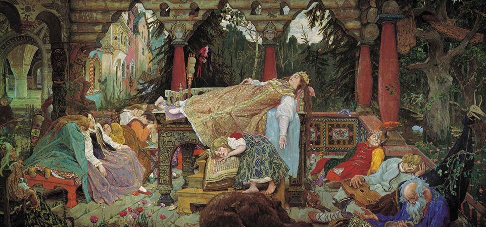 Сказка о спящей царевне. Васнецов В.М.