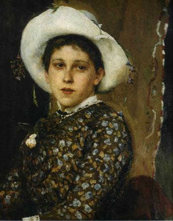 Портрет Т.А. Мамонтовой. Васнецов В.М.