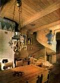 Интерьер гостиной дома В.М. Васнецова.