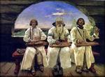 В.М. Васнецов. Гусляры. 1899 г. Холст, масло.