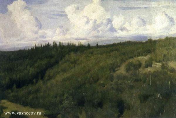 Пейзаж под Абрамцевым