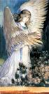В.М. Васнецов. Ангел со светильником. Между 1885-1894. Картон, акварель, гуашь. Вариант росписи алтарной апсиды Владимирского собора в Киеве.