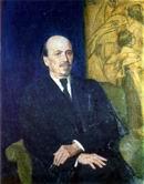 В.М. Васнецов. Портрет М.В. Нестерова.