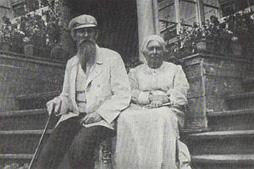 В. М. Васнецов с женой Александрой Владимировной.
