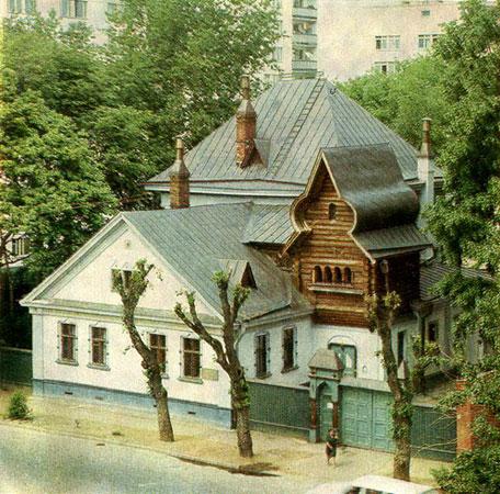 Фасад дома Васнецова