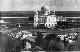 Вятка. Александро Невский собор (справа).