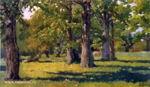 В.М. Васнецов. Дубовая роща в Абрамцеве. 1883. ГТГ