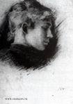 В.М. Васнецов. Портрет В.П. Третьяковой. Середина 1880-х