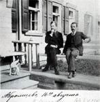 В.М. Васнецов и А.А. Киселев. Абрамцево. 1890-е.
