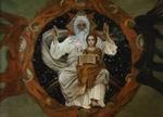 В.М. Васнецов. Отечествие. Оригинал для мозаики православного собора в Варшаве. ГРМ. 1907.