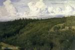 В.М. Васнецов. Пейзаж под Абрамцевом. ГТГ. 1881.