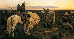 В.М. Васнецов. Витязь на распутье. 1882 г. Холст, масло. ГРМ.