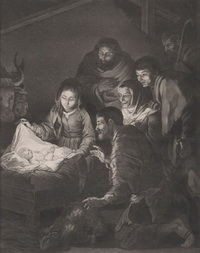Поклонение пастухов (В. Грин, 1775 г.)