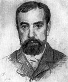 В. М. Васнецов. Портрет В. Д. Поленова. 1882.