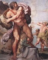 Циклоп Полифем (фреска, 1597 - 1602 г.)