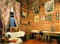 Интерьер комнаты А.В. Васнецовой.