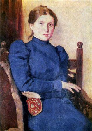 Портрет Т.В. Васнецовой. Васнецов В.М.