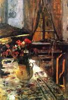 Сумерки в комнате (К.А. Коровин, 1880-е г.)