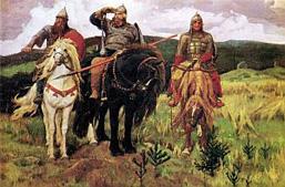 В. М. Васнецов. Богатыри. 1898.