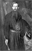 Н. П. Кузнецов. Портрет В. М. Васнецова. 1897.