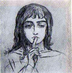 Ангел Молчания. Васнецов В.М.