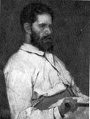 В. М. Васнецов. Портрет М. М. Антокольского. 1884.