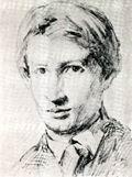 В.М. Васнецов. Автопортрет. 1868 г. Бум., гр. кар. Дом-музей В. М. Васнецова.