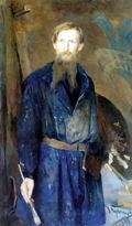 Николай Кузнецов. Портрет В.М. Васнецова