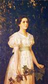 В. М. Васнецов. Портрет В. С. Мамонтовой. 1896.