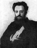 И. Н. Крамской. Портрет А. В. Прахова. 1879.