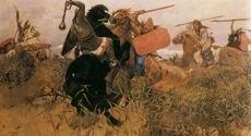 В.М. Васнецов. Битва русских со скифами. 1881 г. Холст, масло. ГРМ.