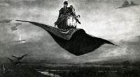 В.М. Васнецов. Ковер-самолет. 1880 г. Холст, масло. Горьковский государственный художественный музей