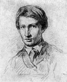В. М. Васнецов. Автопортрет. Рис. 1868.