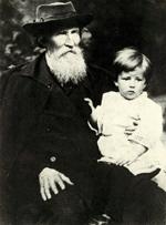 В.М. Васнецов с внуком Витей.
